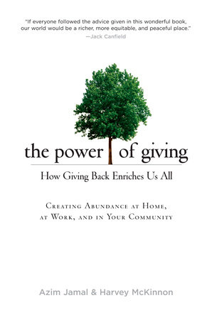 The cover of the book The Power of Giving