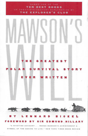 Mawson's Will by Lennard Bickel