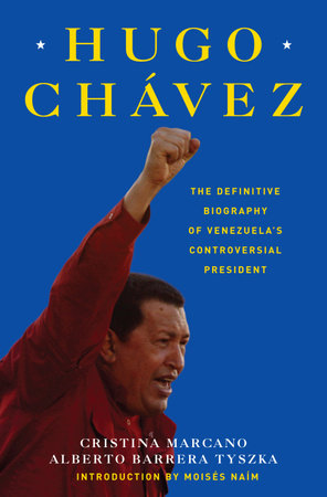 The cover of the book Hugo Chavez
