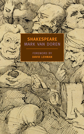 Shakespeare by Mark Van Doren