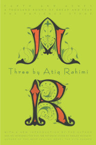Three by Atiq Rahimi