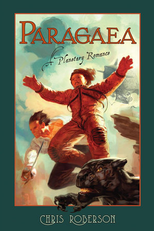 The cover of the book Paragaea