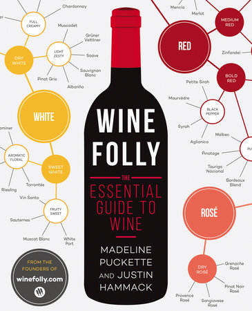The cover of the book Wine Folly