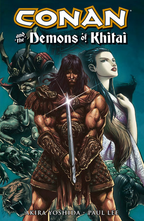 Conan and the Demons of Khitai by Akira Yoshida