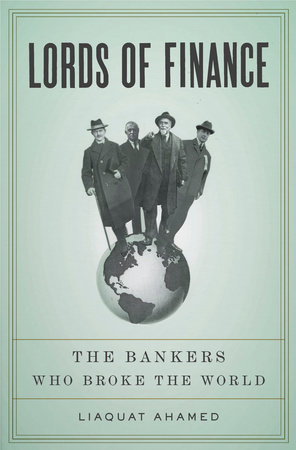 Lords of Finance Book Cover Picture