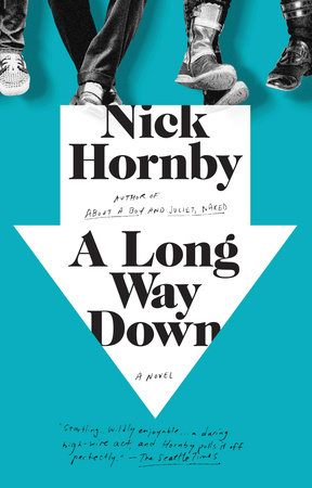 The cover of the book A Long Way Down