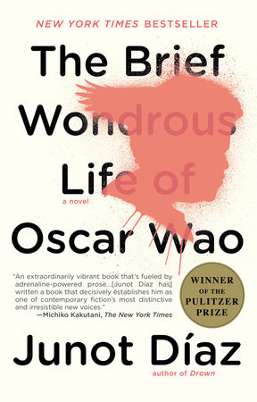 The cover of the book The Brief Wondrous Life of Oscar Wao