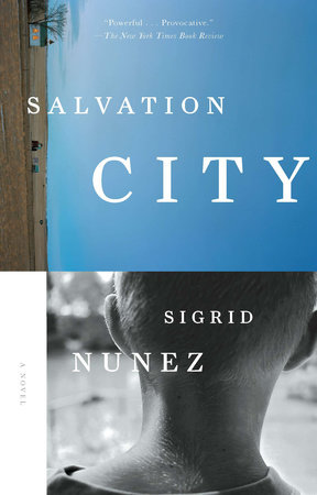 The cover of the book Salvation City