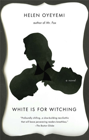 The cover of the book White is for Witching