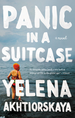 Panic in a Suitcase Book Cover Picture