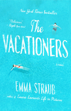 The cover of the book The Vacationers