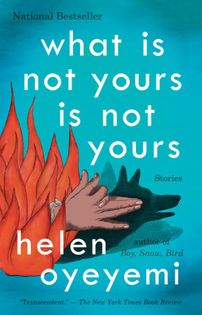 The cover of the book What Is Not Yours Is Not Yours