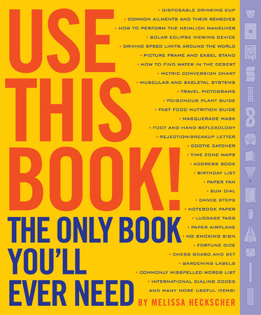 Use This Book! by Melissa Heckscher