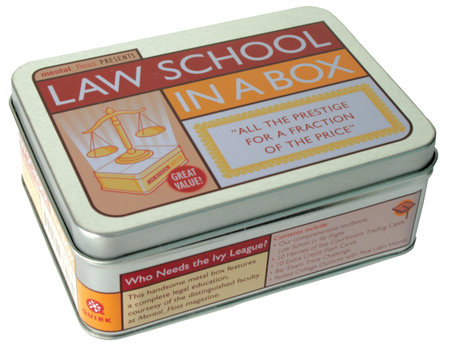 Law School in a Box by mental_floss
