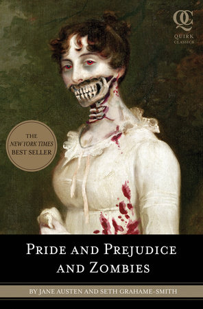 Pride and Prejudice and Zombies Book Cover Picture