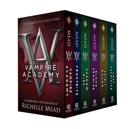 Vampire Academy Box Set 1-6 by Richelle Mead
