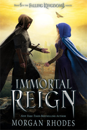 The cover of the book Immortal Reign