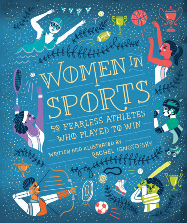 The cover of the book Women in Sports