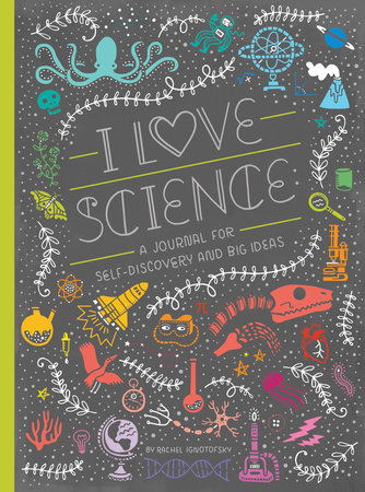 I Love Science Book Cover Picture