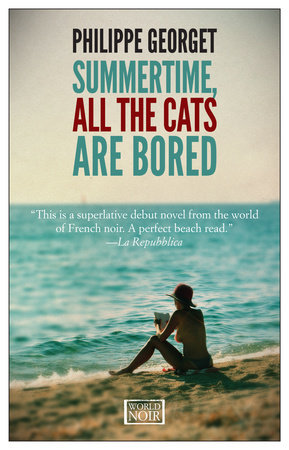 Summertime All The Cats Are Bored by Philippe Georget