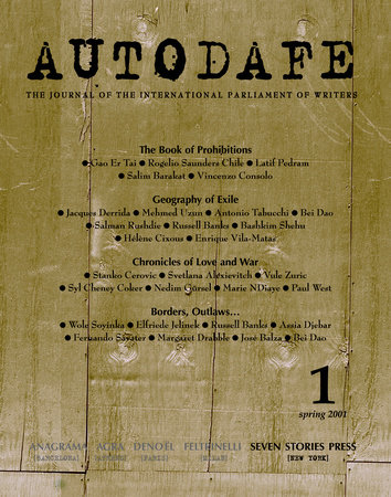 Autodafe 1 by International Parliament of Writers