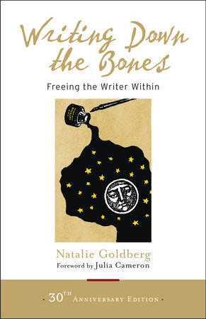 The cover of the book Writing Down the Bones