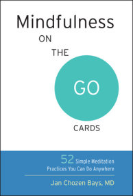 Mindfulness on the Go Cards