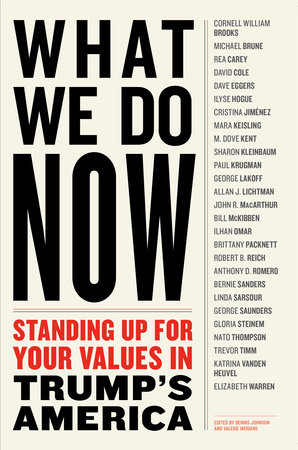 The cover of the book WHAT WE DO NOW