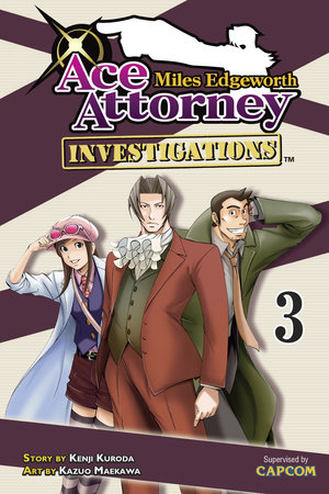 Miles Edgeworth: Ace Attorney Investigations 3 by Kenji Kuroda