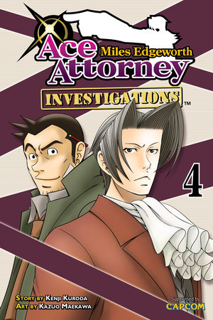 Miles Edgeworth: Ace Attorney Investigations 4 by Kenji Kuroda