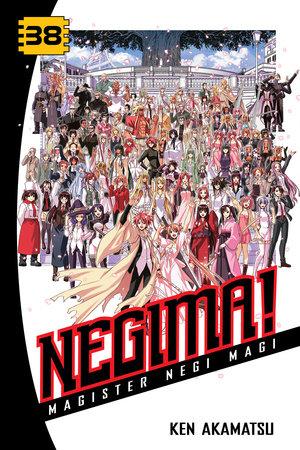 Negima! 38 by Ken Akamatsu