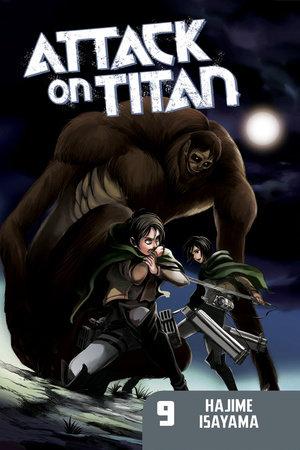 Attack on Titan 9 by Hajime Isayama