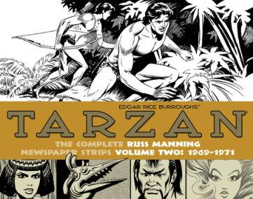 Tarzan: The Complete Russ Manning Newspaper Strips Volume 2 (1969-1971)