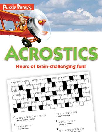 Puzzle Baron's Acrostics by Stephen P. Ryder