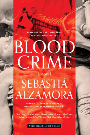 The cover of the book Blood Crime