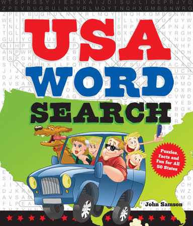 USA Word Search by John Samson