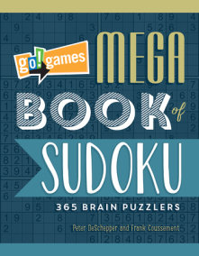 Go!Games Mega Book of Sudoku
