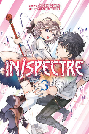 In/spectre Volume 5 by Kyou Shirodaira Paperback Book