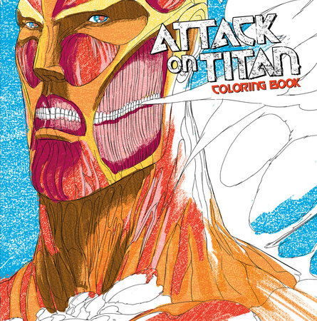 Attack on Titan Adult Coloring Book by Hajime Isayama
