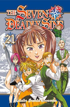 The Seven Deadly Sins 21 by Nakaba Suzuki