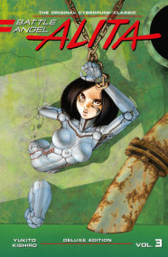 Battle Angel Alita Deluxe Edition 3
