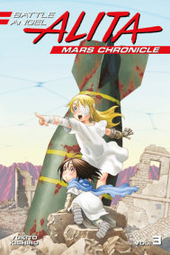 Battle Angel Alita Mars Chronicle 3