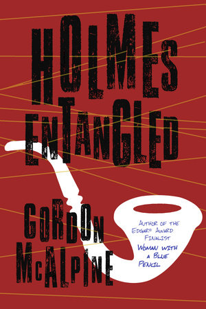 The cover of the book Holmes Entangled