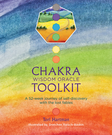 Chakra Wisdom Oracle Toolkit by Tori Hartman