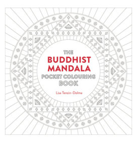 Buddhist Mandala Pocket Coloring Book