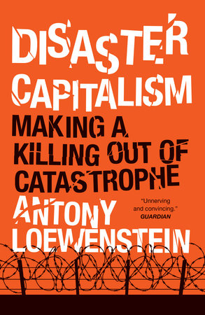 Disaster Capitalism Book Cover Picture