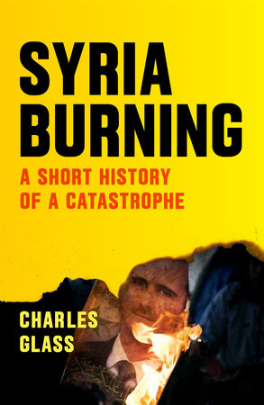 The cover of the book Syria Burning