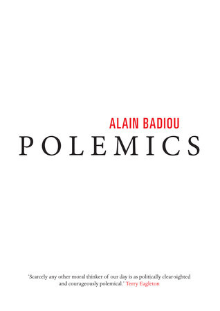 Polemics by Alain Badiou