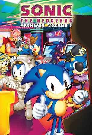 Sonic the Hedgehog Archives 5 by Sonic Scribes
