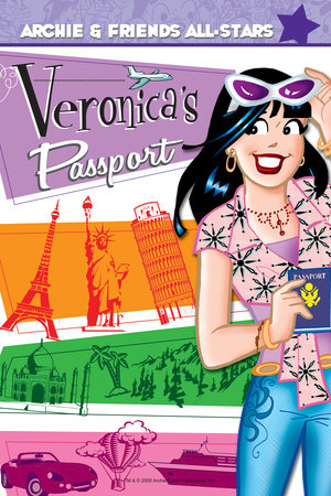 Veronica's Passport by Dan Parent